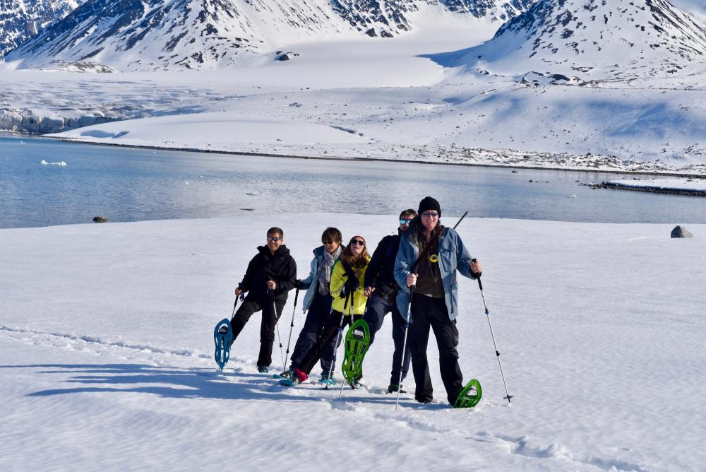 Excursion en groupe en Arctique