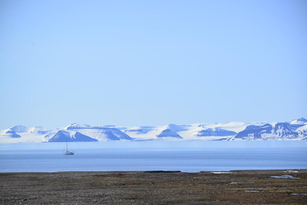 horizon en Arctique