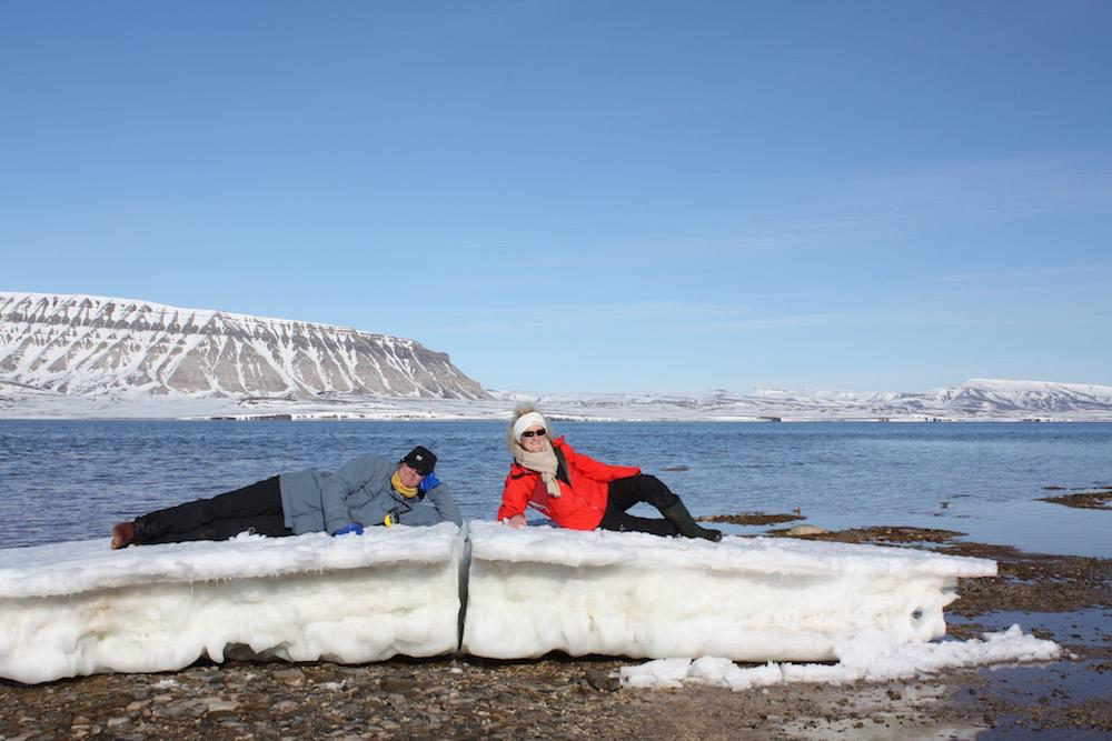 Sailing escape en Arctique